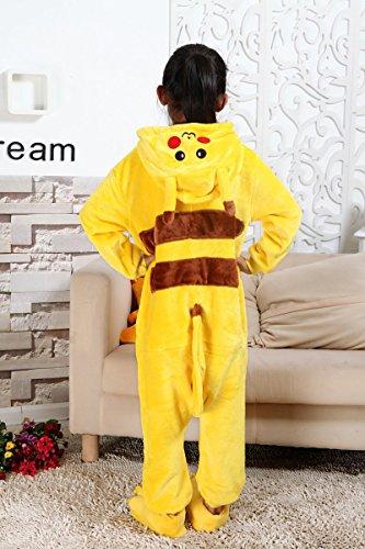 Moollyfox-Pijamas-Ropa-de-Dormir-Disfraz-de-Animal-Cosplay-Para-Nios-Pikachu