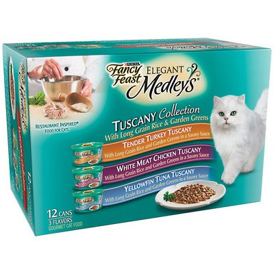 Elegant Medley Tuscany Collection Cat Food
