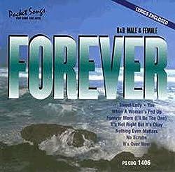 Pocket Songs Karaoke CDG #1406 - Forever - Female & Male R&B