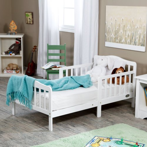 Lowest Prices! Orbelle 3-6T Toddler Bed, White