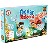 Logic Roots Math Board Game OCEAN RAIDERS for Kids of Grade 1 and Above to Master Addition