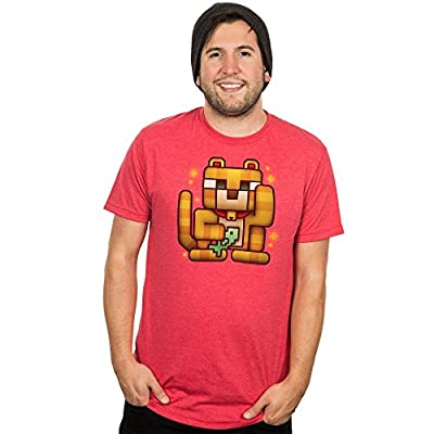 Minecraft Men's Lucky Ocelot Premium T-Shirt