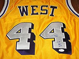 Jerry West Signed Los Angeles Lakers Jersey COA w  HOF 1980 2010 - JSA Certified -... by Sports+Memorabilia