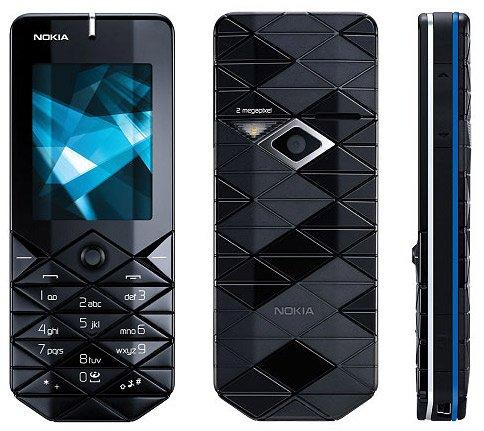 Nokia 7500 Prism Tri-Band GSM Phone Unlocked - Angemingess