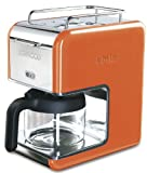 Kenwood kMix Boutique CM027 Filter Coffee Maker, Bright Orange