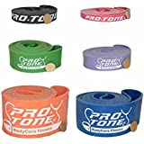 CROSSFIT PULL UP RESISTANCE BANDS - POWER LIFTING WEIGHT LIFTING - ASSISTED PULL UPS by PROTONE® FITNESS