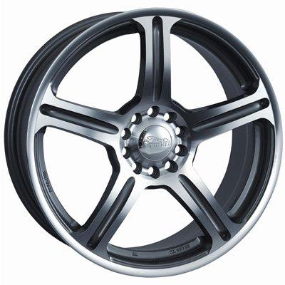 Primax Wheel 772 Machined Wheel (17x7/5x114.3mm) wheel