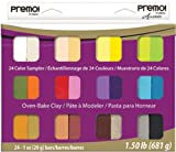 Sculpey Clay Premo Sampler Pack 24/Pkg