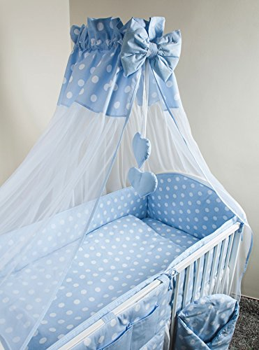 Nuovo | Baby baldacchino/zanzariera + Morsetto Supporto per Nursery Lettino Tartarughe-Giallo