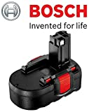 Genuine Bosch 18V Pod Style Battery To Fit: Bosch Cordless PSR 18V Drill/Driver and Bosch Cordless Art23 and 26 Accutrim Garden Trimmers