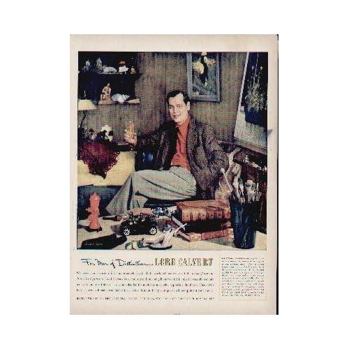 Mr. Stevan Dohanos, For Men of Distinction  Lord Calvert.  1951 Lord Calvert Whiskey Ad, A5187.