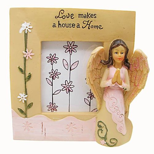 ANGEL WHISPERS HOME IS WHERE THE HEART IS SQUARE
