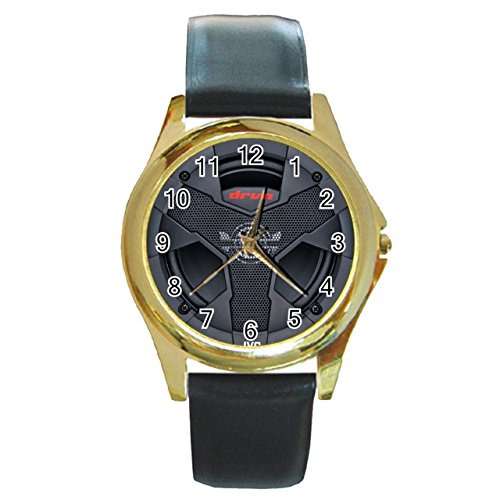 jvc-cs-audio-car-subwoofer-synthetic-leather-band-gold-metal-watch