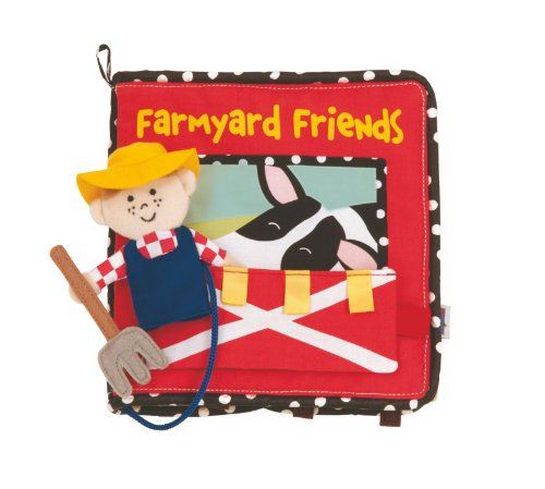 Manhattan Toy Farmyard Friends Soft Activity Book - 1