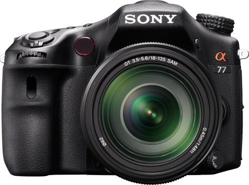 Sony A77VM 24.3 MP Translucent Mirror Digital SLR With 18-135mm Lens
