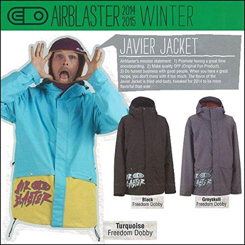 スノーボードウェア 2015 AIRBLASTER (エアブラスター) JAVIER JACKET M GREYSKULL