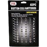 IIT 00260 Button Cell Batteries, 40-Piece