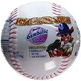 Big League Chew Gum, Gumballs, Stickers & Tattoos! ~ Party Favor, Baseballs - 12 Pack