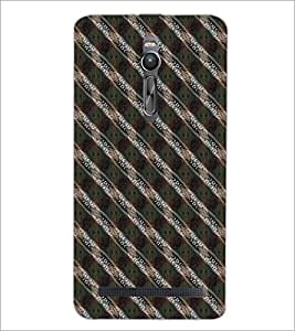 PrintDhaba Pattern D-5262 Back Case Cover for ASUS ZENFONE 2 (Multi-Coloured)