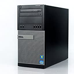 Dell Optiplex MiniTower Business High Performance Desktop Computer PC (Intel Quad-Core i7-2600S up to 2.8GHz, 8GB DDR3 Memory, 2TB HDD, DVDRW, Windows 7 Professional) (Certified Refurbished)