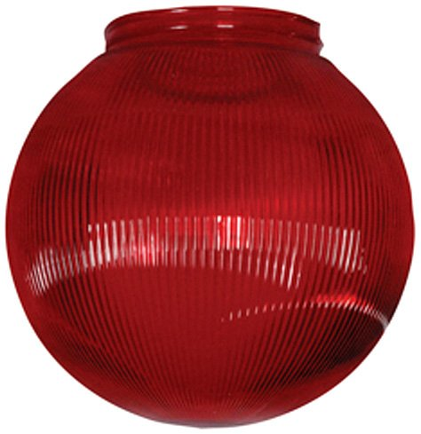 Polymer Products (3211-51630) Red Replacement Globe for String Lights