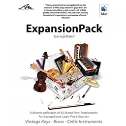 Channel Sources EXPANSIONPACK FOR GARAGEBAND (AMGEXPGB) -