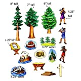 Tale Of Three Trees Felt Figures For Flannel Board Stories Bible Story Jesus