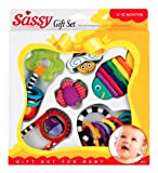 Sassy Baby's First Toys 6 Piece Gift Set