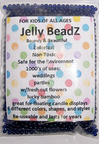 2oz Jelly BeadZ® Water Bead Gel- BLUE (Jelly Beadz Blue compare prices)