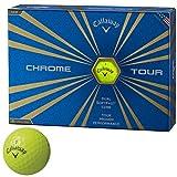 キャロウェイゴルフ CHROME TOUR ボール クロムツアーボール 3ダースセット 3ダース(36個入り) イエロー