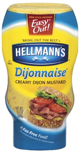 Hellmanns Dijonnaise, 9.5-Ounce Squeeze Bottles (Pack of 12)