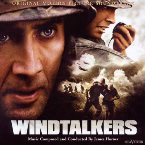 Original album cover of Windtalkers (Score) by James Horner