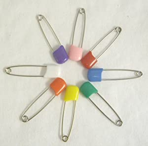 Plastic Headed Diaper Pins - 4 Pack by All Together Enterprises