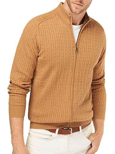 Massimo Dutti Men's Cable knit cardigan 0921/324 (Medium) (Massimo Dutti Clothing compare prices)