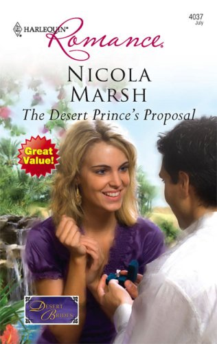 Image of The Desert Prince's Proposal