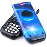 Guerrilla Hard Slide Case-Cover for TI-84 Plus, TI 84-Plus C Silver Edition, TI-89 Titanium Graphing Calculator, Galaxy