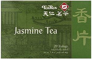 Ten Ren Jasmine Tea, 20-Count
