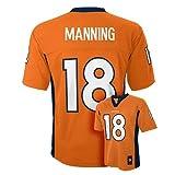 Peyton Manning Denver Broncos Orange NFL Youth 2015-16 Season Mid-tier Jersey (Large 14-16)