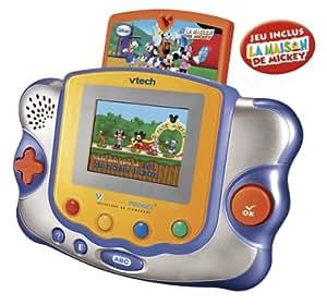 Vtech - 75345 - Jeu Educatif Electronique - Console Vsmile Pocket - La Maison de Mickey