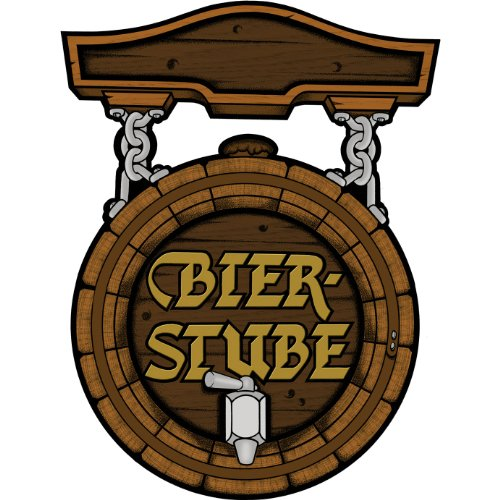 Bier Stube Cutout Party Accessory (1 count)