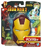 IRON MAN 2 - Micro Heads Mini Playsets - Mark III Armor