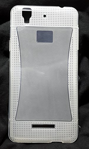 Iway Matte and Glossy Design Transparent Soft Silicon Jelly Back Cover for Micromax Yu YUREKA