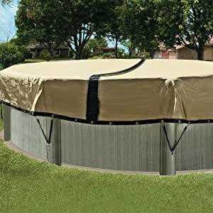 12 year 30 ft round ultimate above ground for Garden pool covers