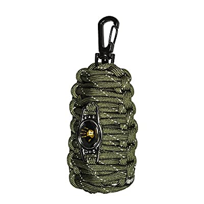 12 Survivors Fish and Fire Emergency Kit, Green