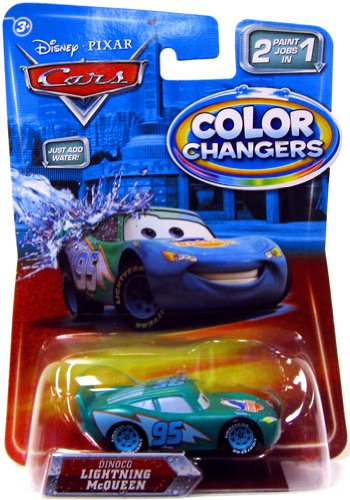 Buy Low Price Mattel Color Changers DINOCO LIGHTNING MCQUEEN Disney / Pixar CARS 2 Paint Jobs In 1 Vehicle (1:55 Scale) Figure (B003E3H0P8)