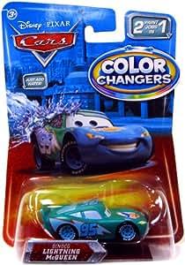 Amazon Com Disney Pixar Cars Movie 155 Color Changers Dinoco Lightning Mcqueen