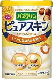 Bathclin ''Pure Skin'' Shiro No Uruoi Japanese Bath Salts with Royal Jelly and Shea Butter - 660g