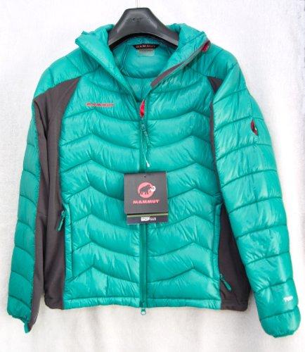 【マムート】 MAMMUT メンズ ダウンジャケット ソフテック SOF TECH アウトドア   Mサイズ (Green)