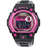 Casio Women's BLX100-1 Baby-G Multi-Function Digital Black Resin Sport Watch