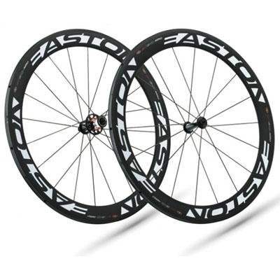Easton 2012 EC90 Aero 56mm Tubular Rear Road Bicycle Wheel - EC90ARTBWHL